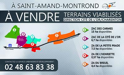 Mairie de saint amand montrond les zones d activit s - Office de tourisme saint amand montrond ...