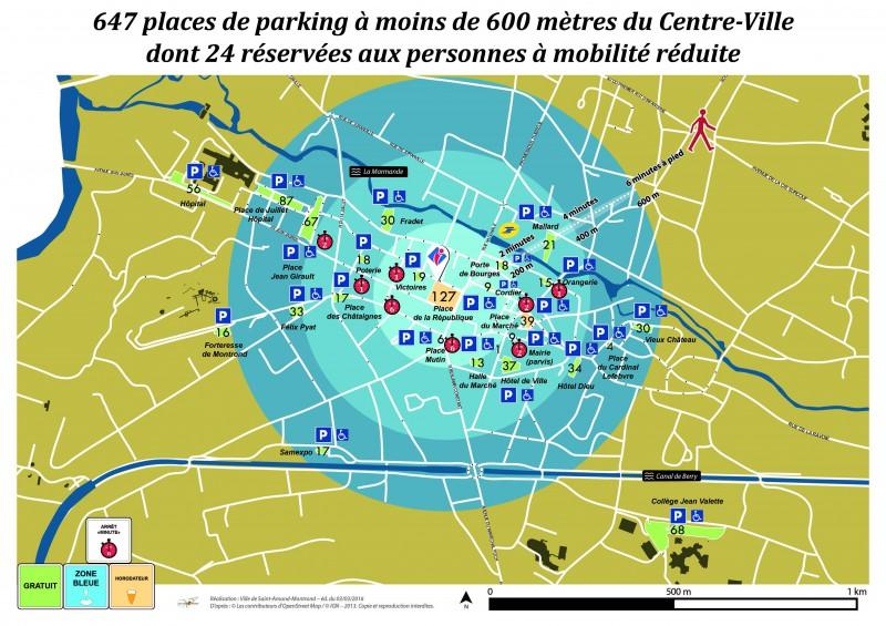 Mairie de saint amand montrond le stationnement - Office de tourisme saint amand montrond ...